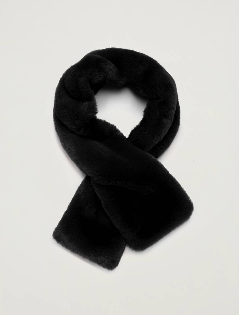 Collo in peluche - nero - pennyblack