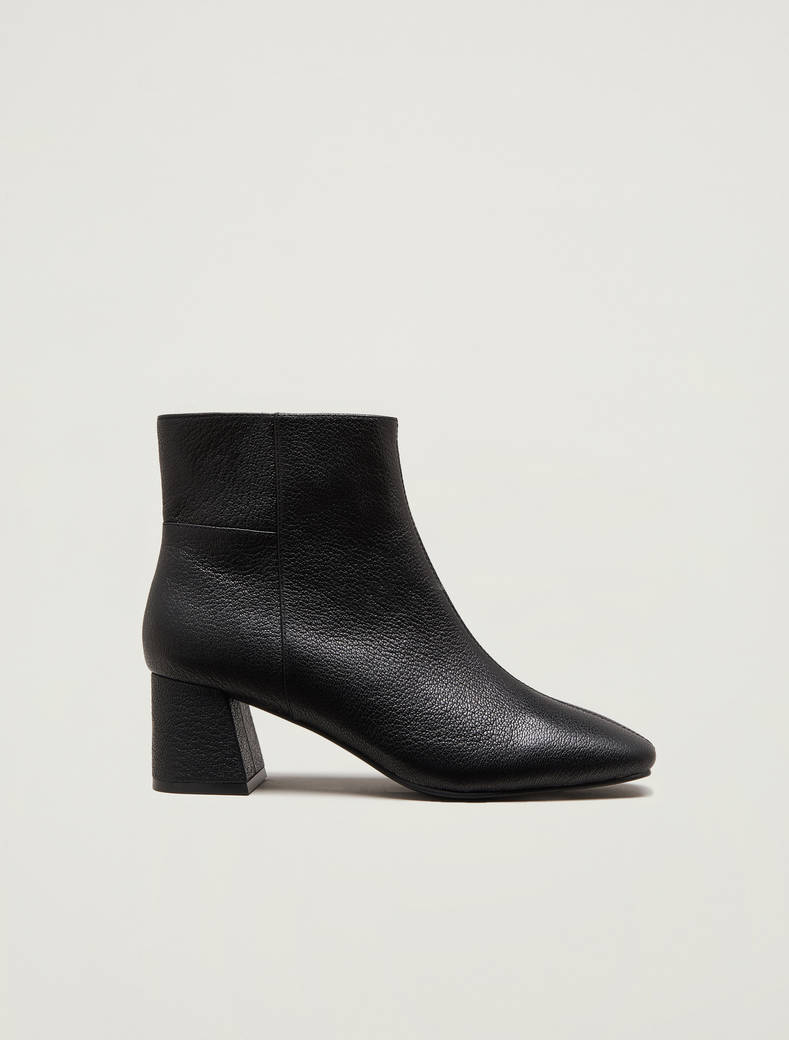 Nappa leather ankle boots - black - pennyblack
