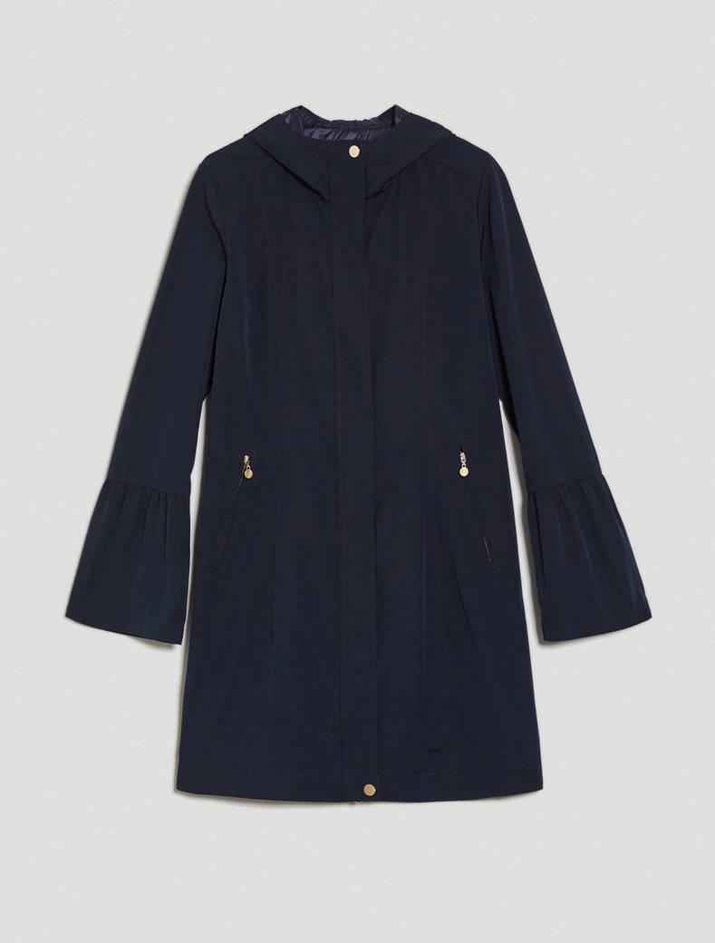Parka in rainproof faille - midnight blue - pennyblack