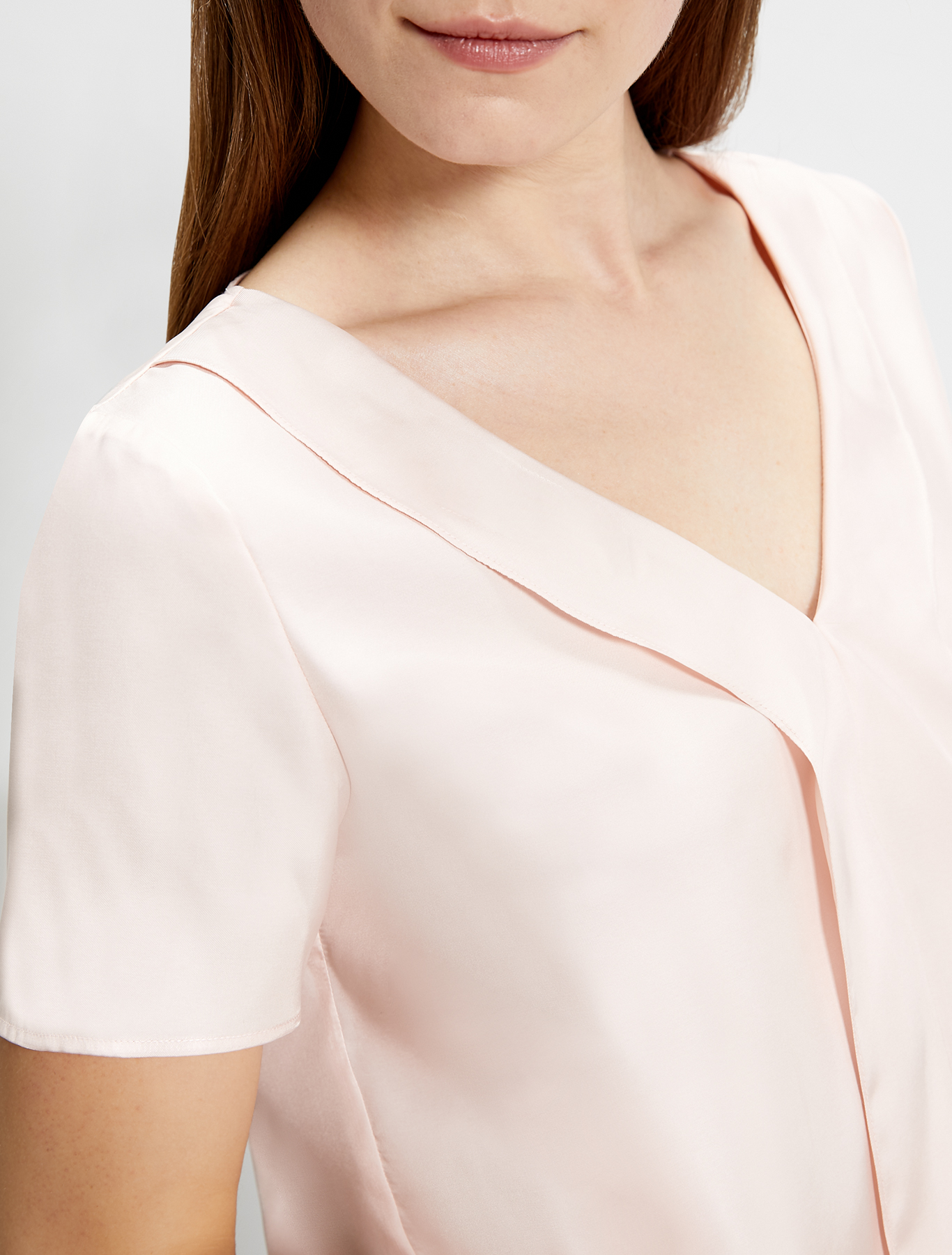 Lightweight twill blouse - pink - pennyblack