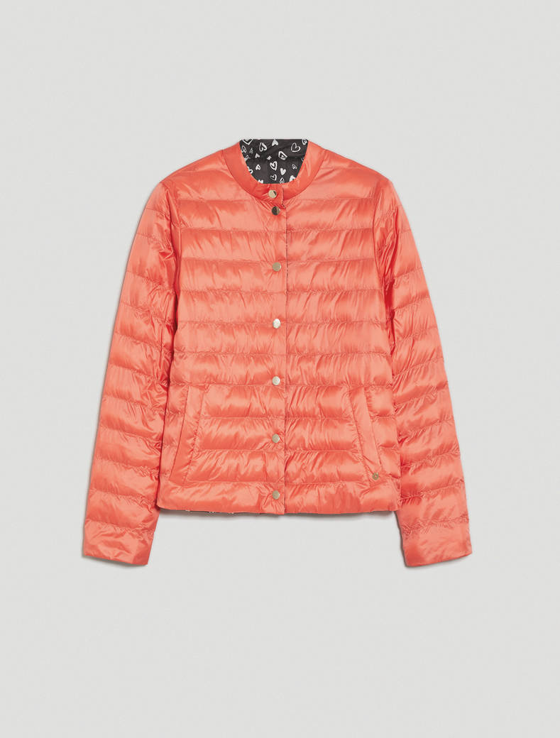 Reversible padded jacket - coral - pennyblack