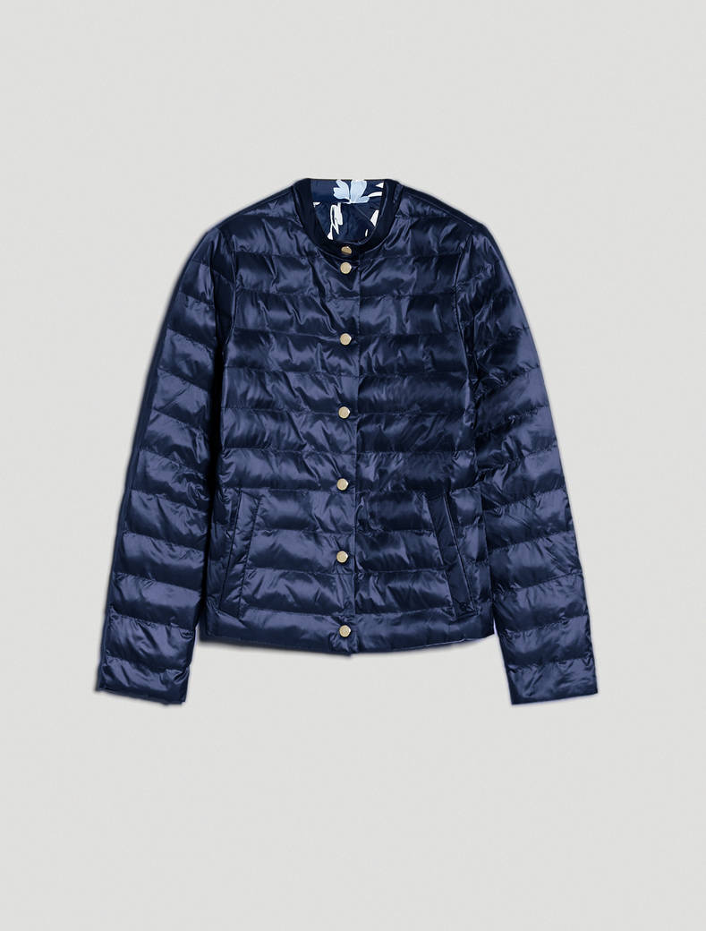 Reversible padded jacket - midnight blue - pennyblack