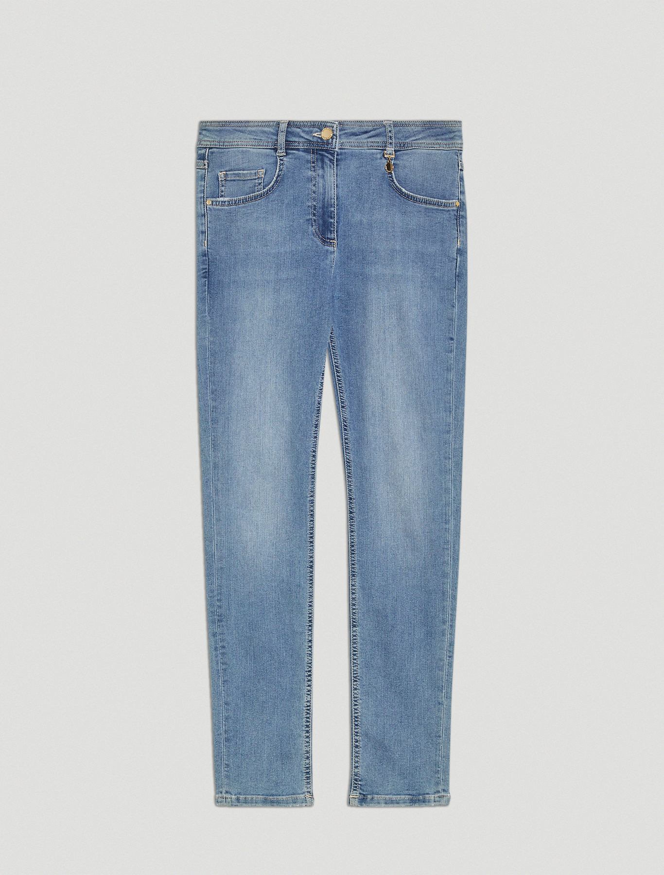 Super stretch skinny jeans - cornflower blue - pennyblack