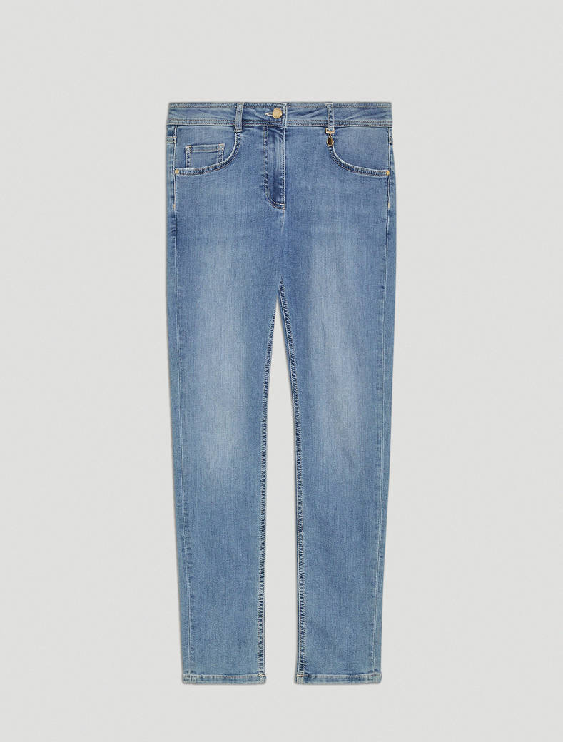 Super stretch skinny jeans - cornflower blue - pennyblack