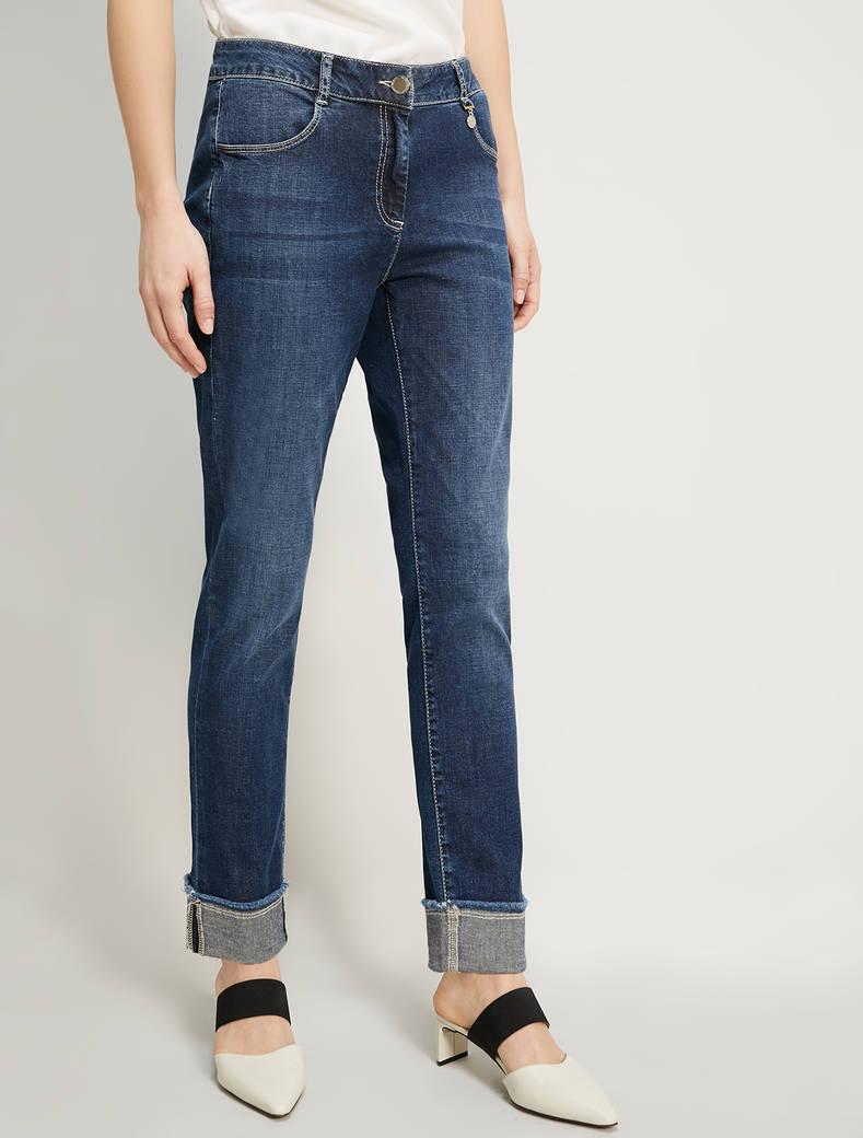 Straight-leg jeans - cornflower blue - pennyblack
