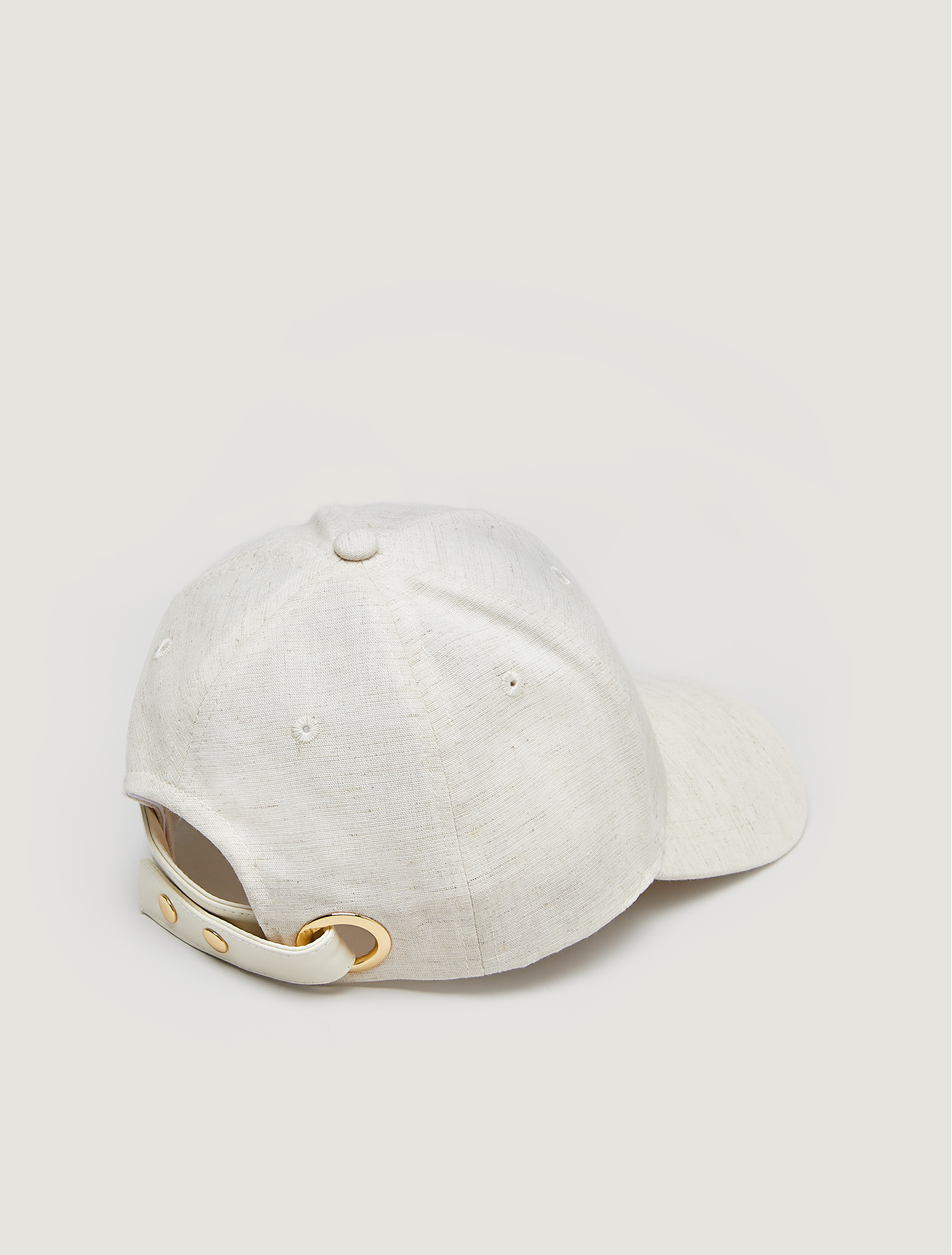Cotton baseball cap - beige - pennyblack