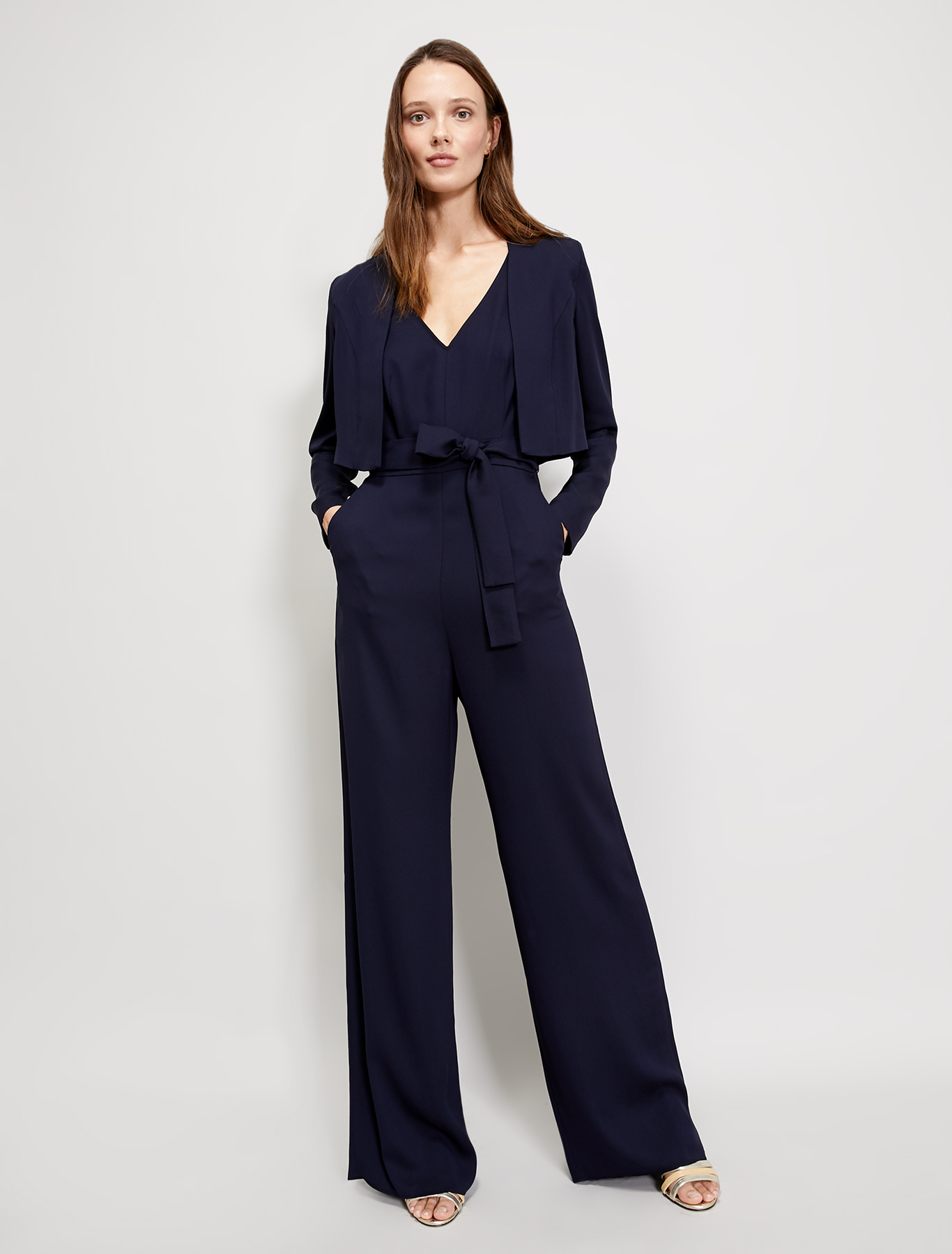 Cady bolero jacket - navy blue - pennyblack