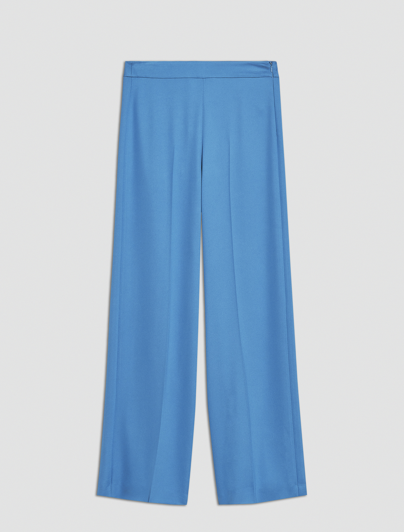 Flowing cady trousers - china blue - pennyblack