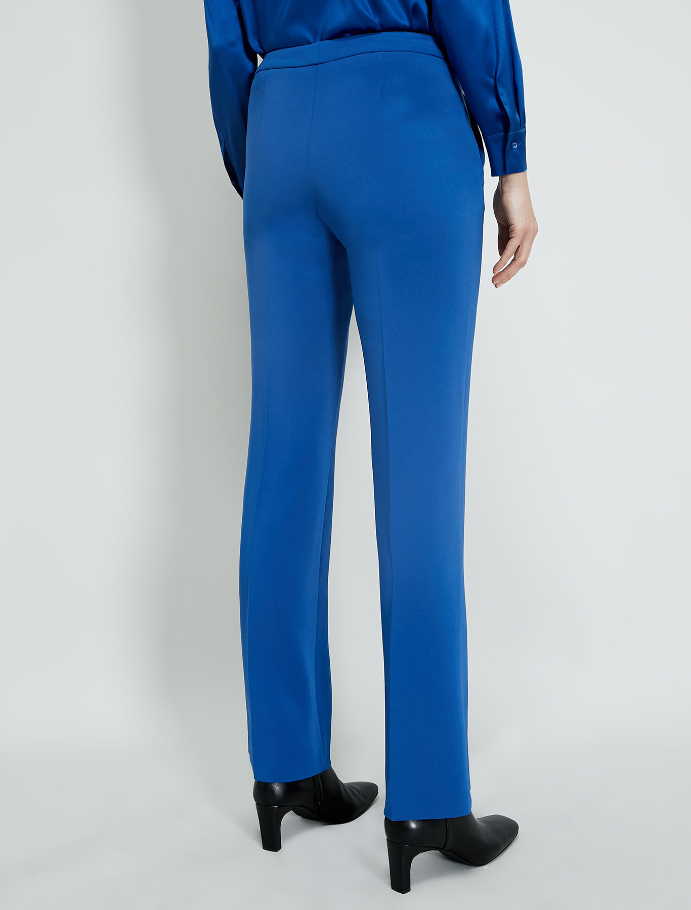 Straight-fit trousers - air force blue - pennyblack
