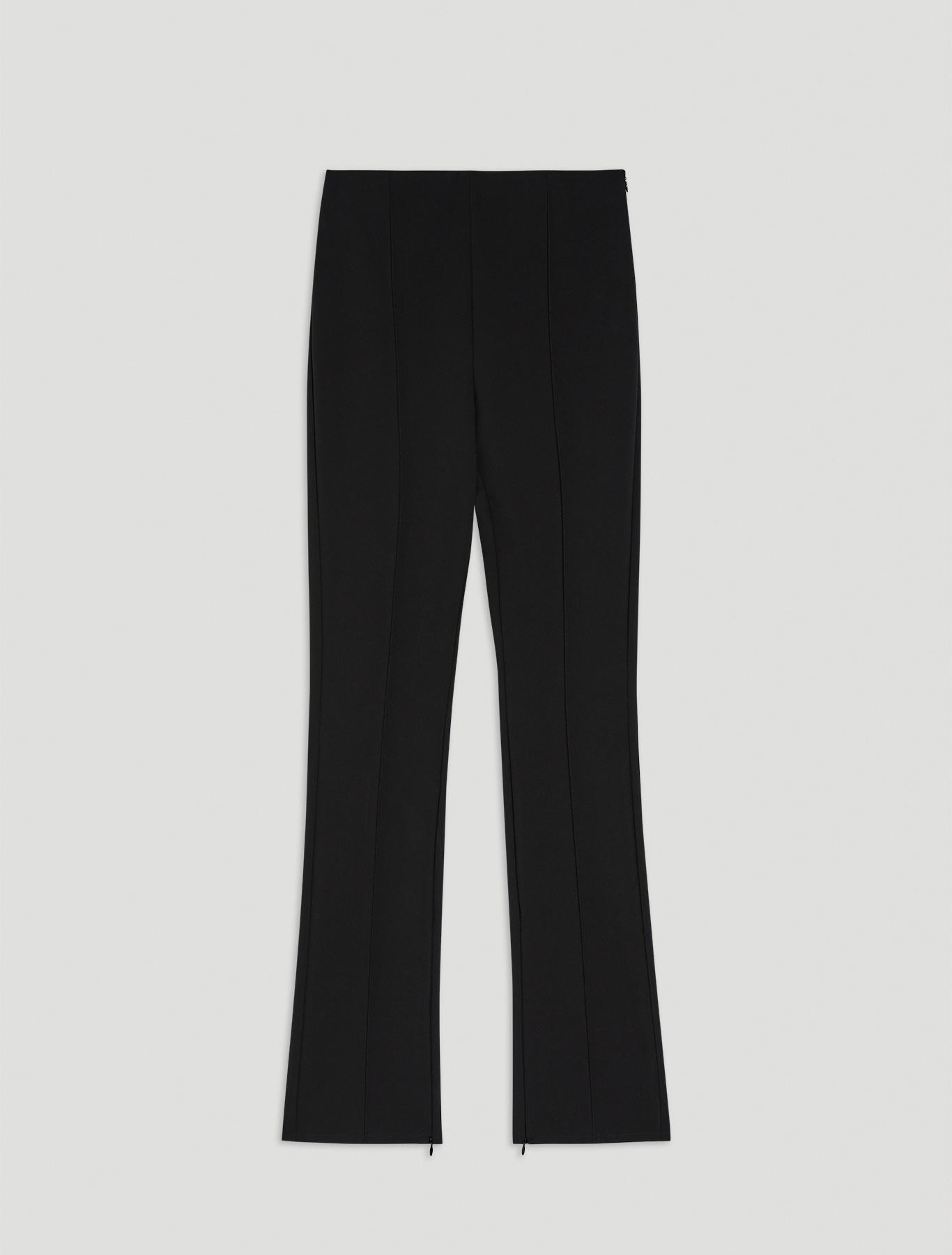 Technical fabric trousers - black - pennyblack
