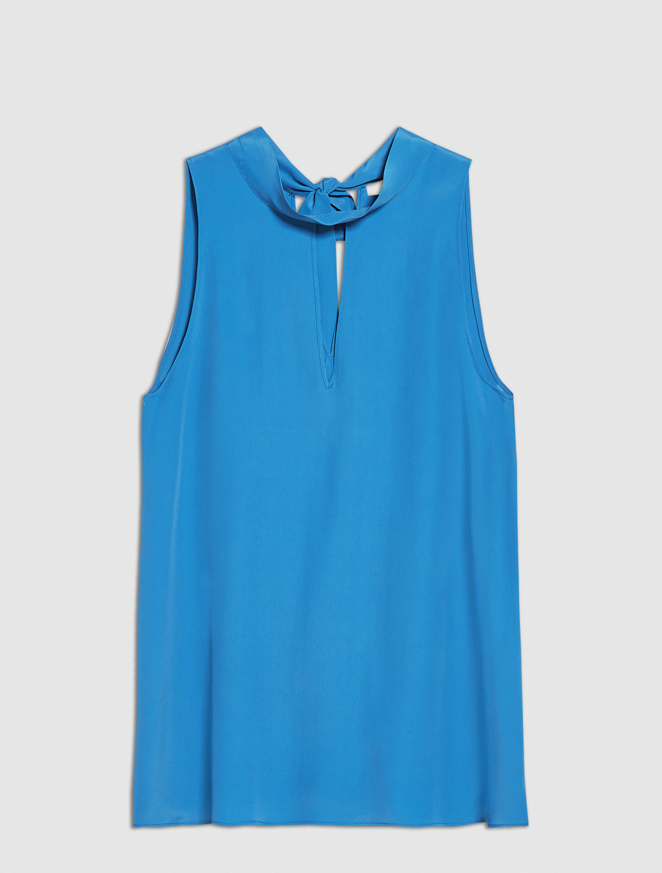 Crêpe de Chine top - china blue - pennyblack