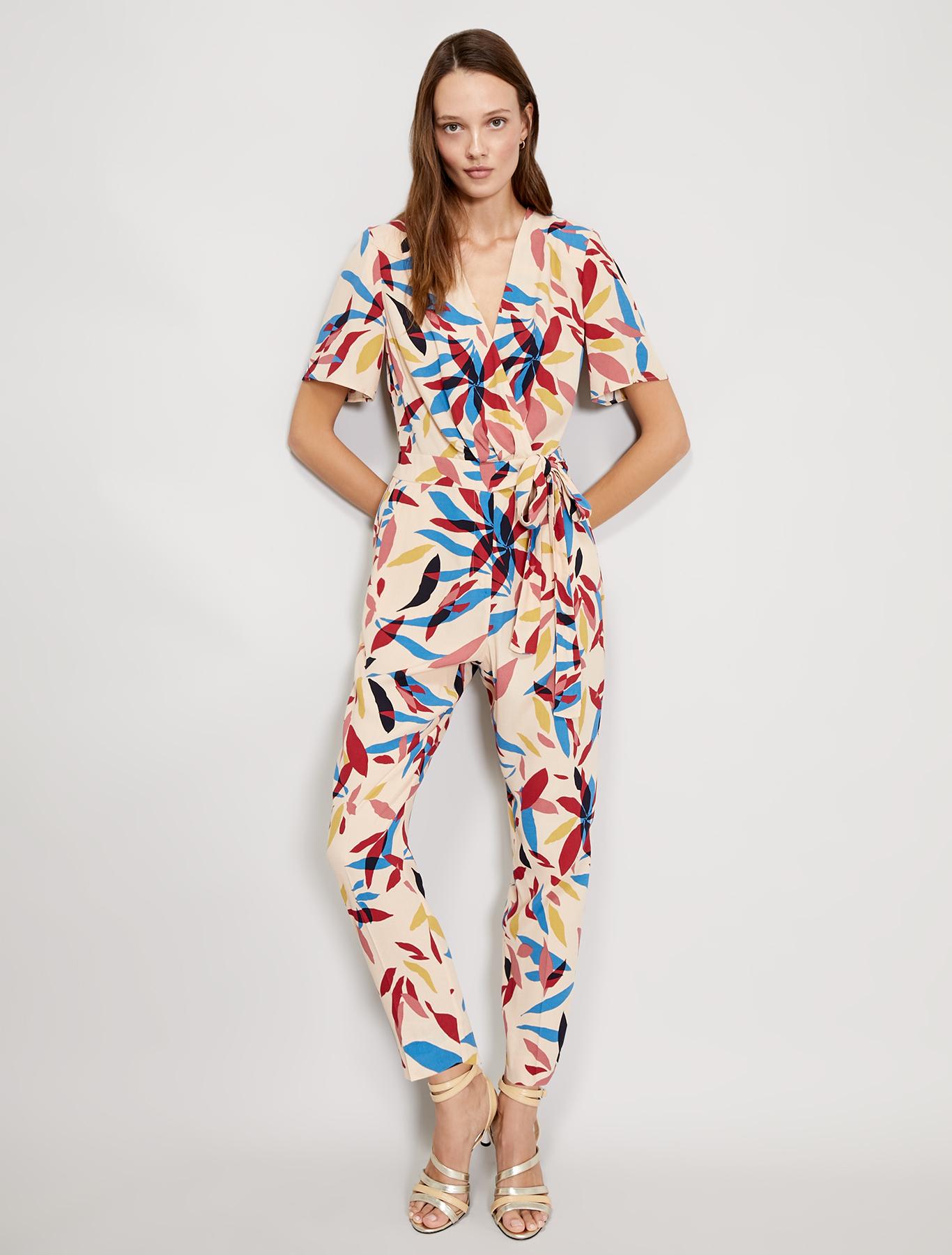 Sablé jumpsuit - beige pattern - pennyblack