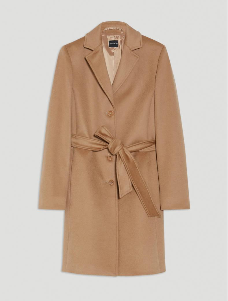 Pure wool coat - camel - pennyblack