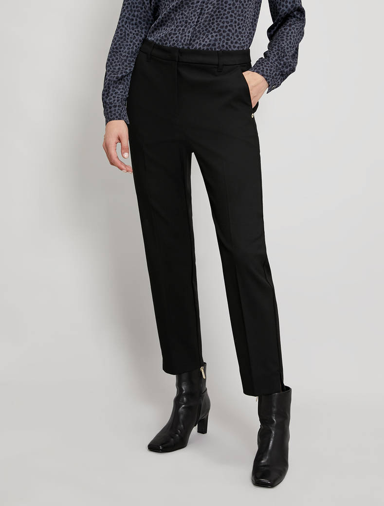 Pantaloni slim fit - nero - pennyblack