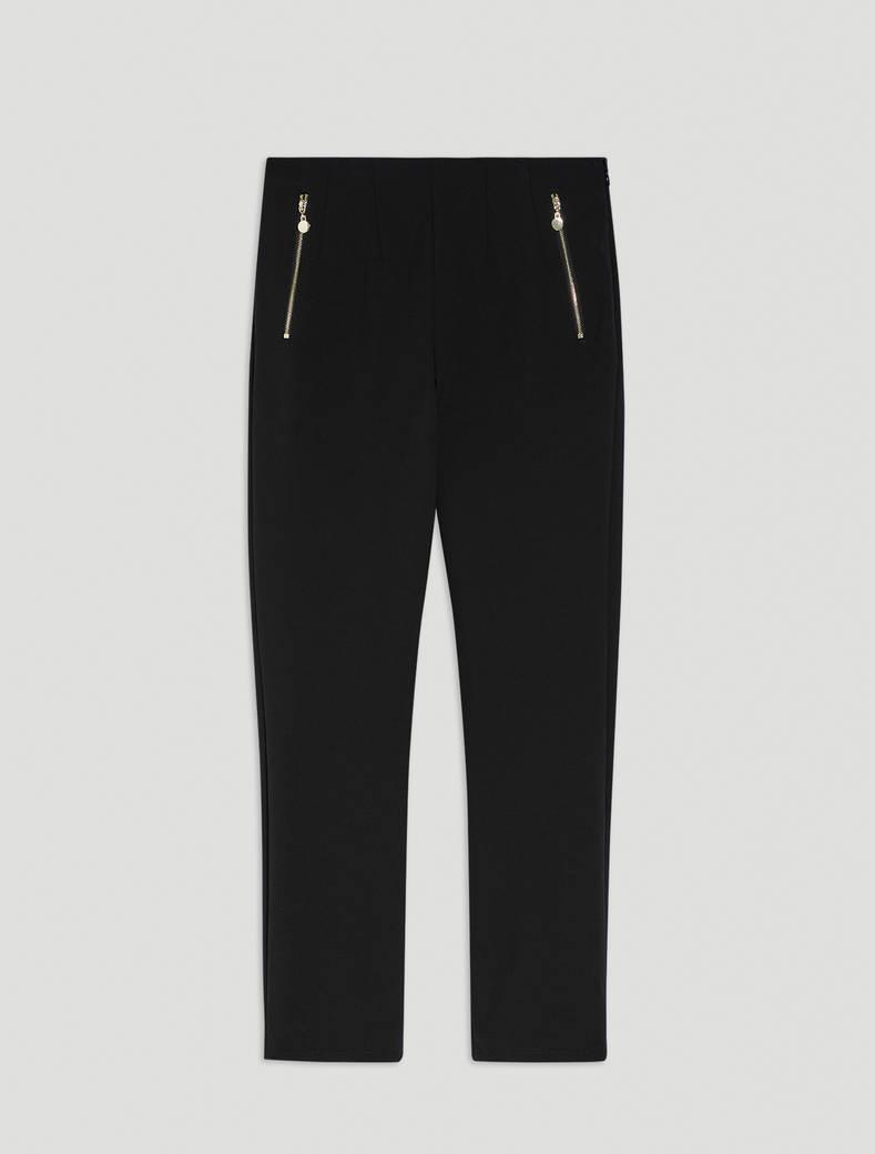 Super-stretch skinny trousers - black - pennyblack