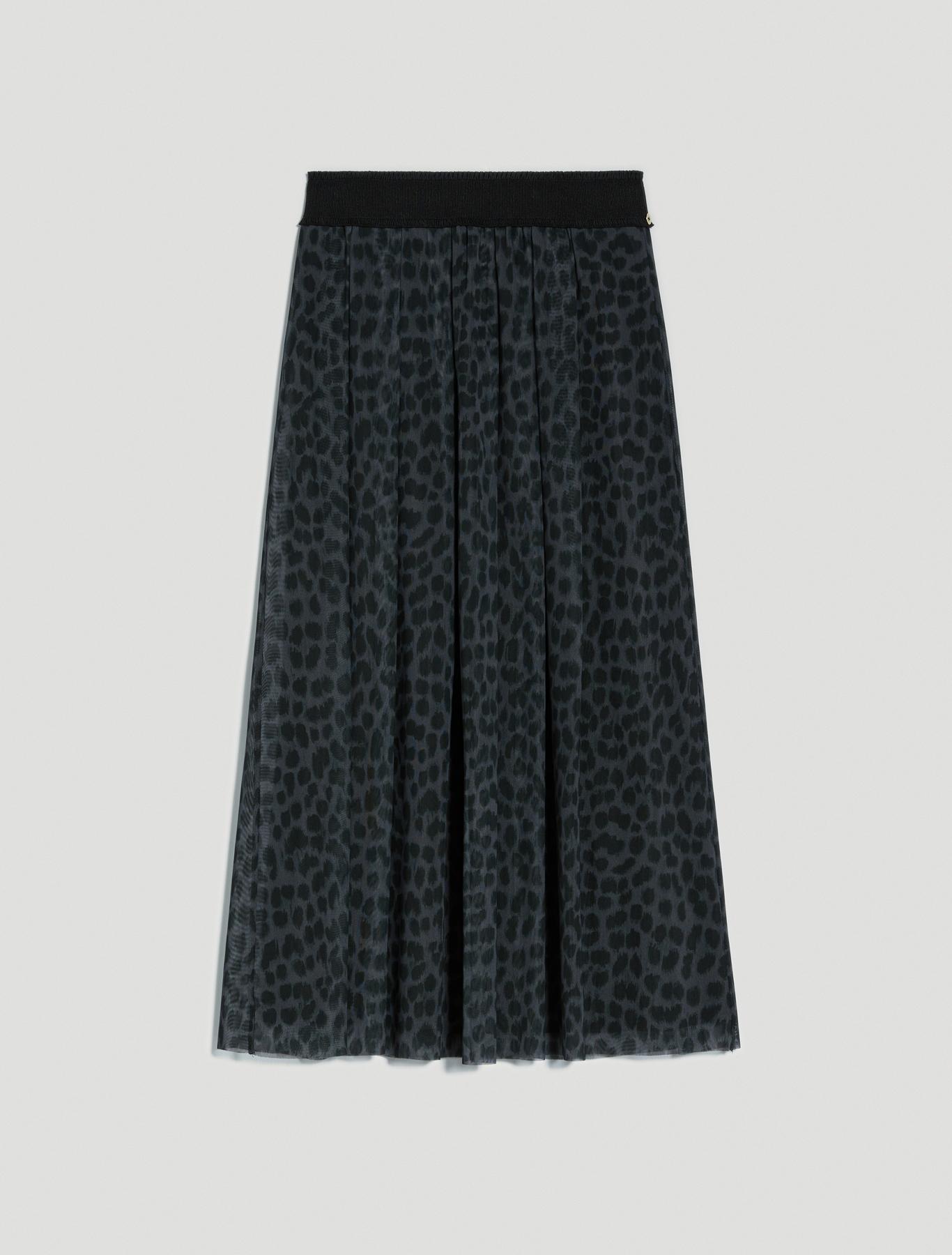 Spotted tulle skirt - black pattern - pennyblack