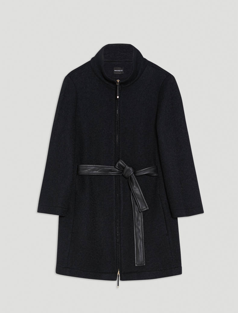 Warm jersey cape - black - pennyblack