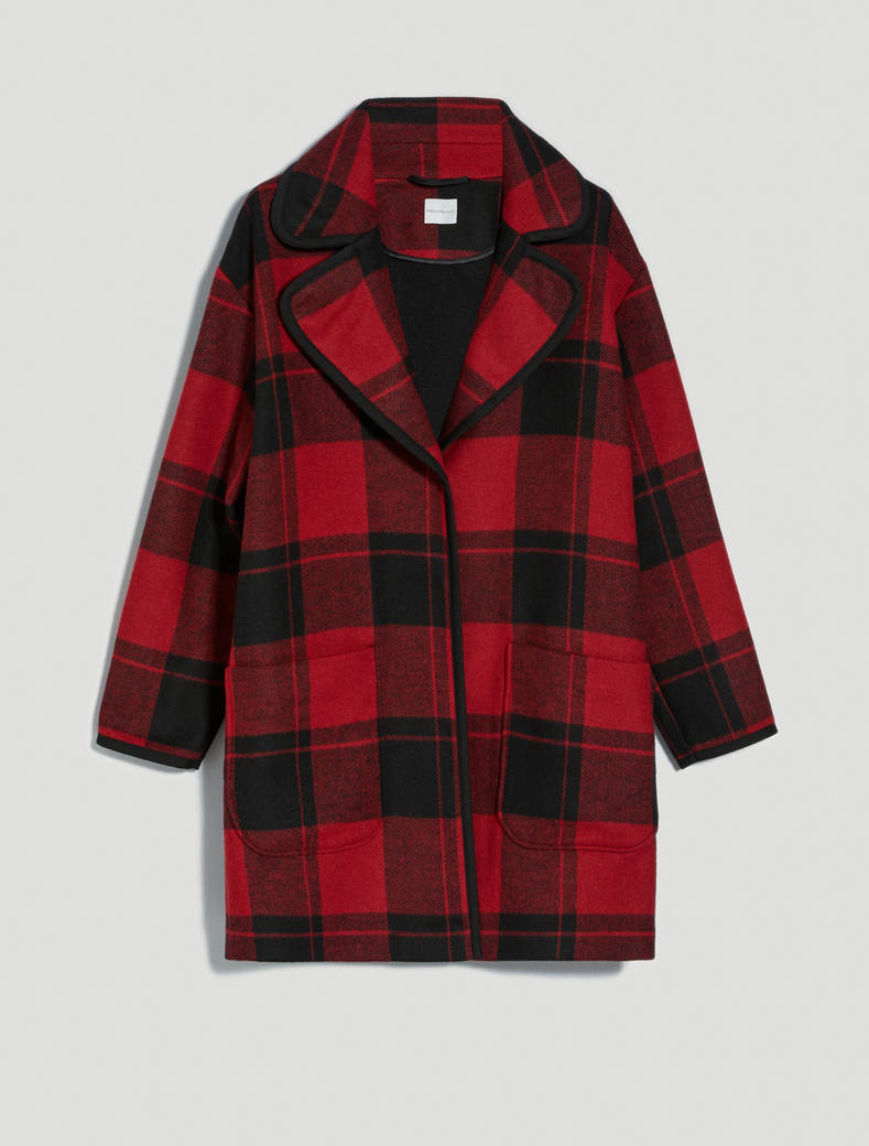 Checked coat - red pattern - pennyblack
