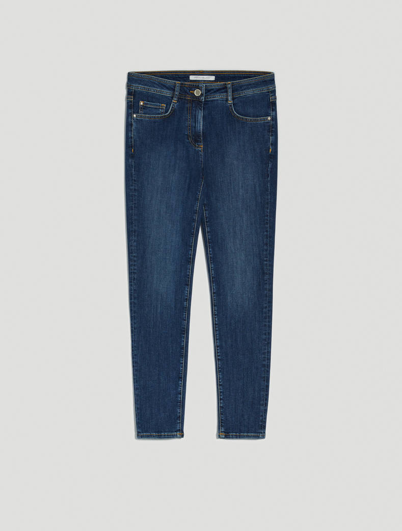 Super stretch skinny jeans - midnight blue - pennyblack