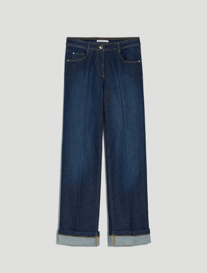 Straight-fit jeans - midnight blue - pennyblack