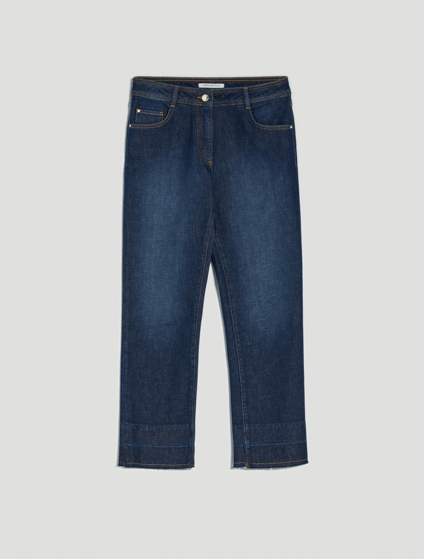 Kick-flare jeans - midnight blue - pennyblack