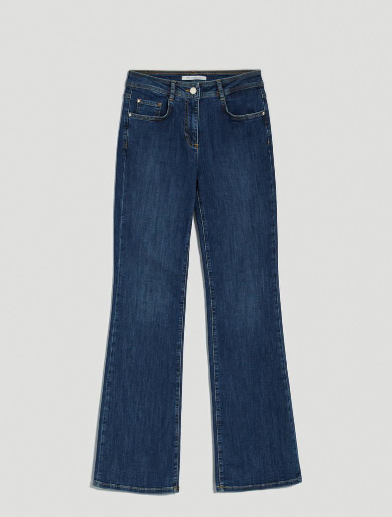 Super-stretch bootcut jeans - midnight blue - pennyblack