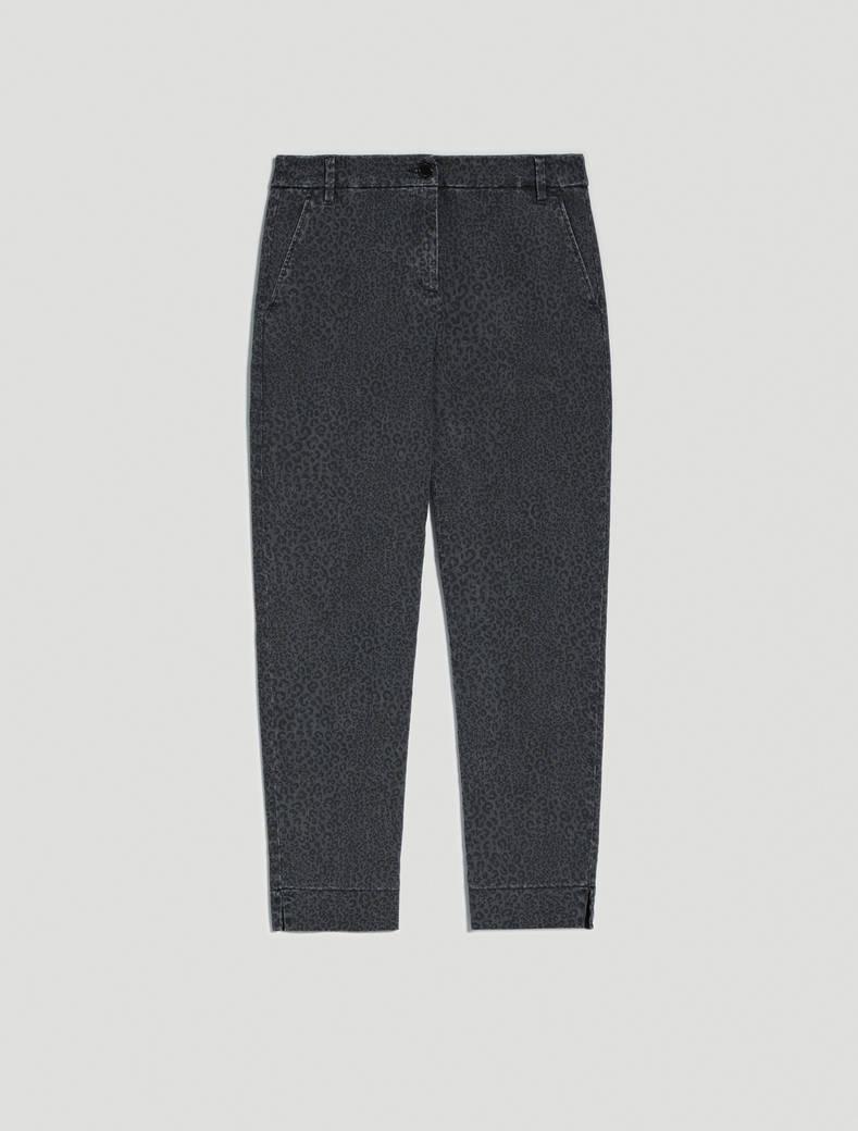 Jeans a microfantasia maculata - nero - pennyblack