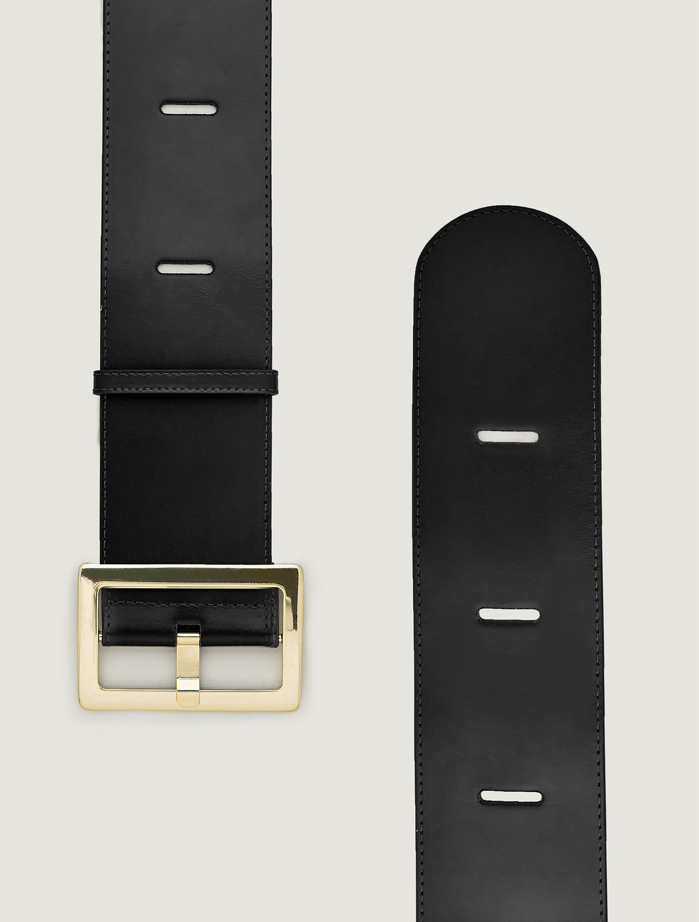 Cintura alta con intagli - nero - pennyblack