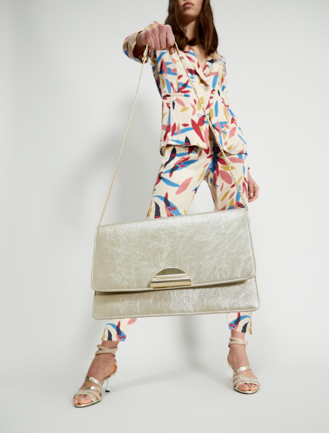 Metallic envelope bag - ivory - pennyblack