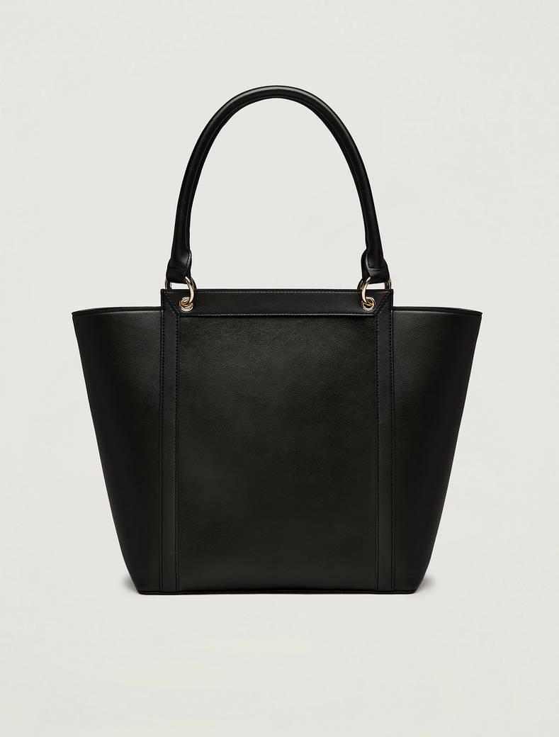 Trapeze shopping bag - black - pennyblack